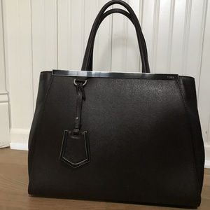 59f76cf9d015 Fendi 2 Jours Handbags